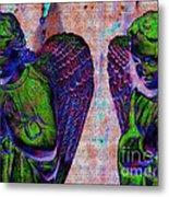 Creche Angels 9 Metal Print