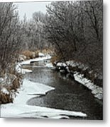 Creek Mood Metal Print