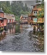Creek Street - Ketchikan - Alaska Metal Print