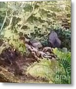 Creekside Smith Gilbert Gardens Metal Print by Elizabeth Carr