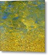 Creekwater Abstract Metal Print