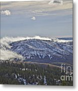 Creeping Fog Metal Print