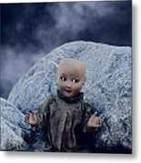 Creepy Doll Metal Print