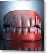 Creepy Teeth  Metal Print