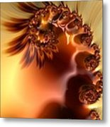 Creme Brulee  Metal Print by Heidi Smith
