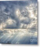 Crepuscular Rays Metal Print