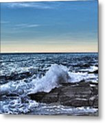 Crescent Bay #1 Metal Print