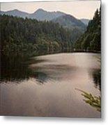 Crescent Lake Metal Print