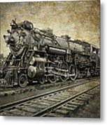 Crescent Limited Locomotive Of 1927 Metal Print