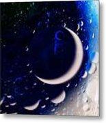 Crescent Moon Metal Print