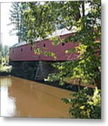 Cresson Bridge Metal Print