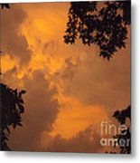Cresting The Storm Clouds Metal Print