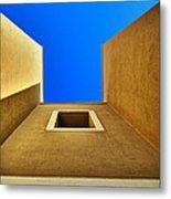 Cretan Architecture VIII Metal Print