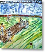 Cricket-day Metal Print