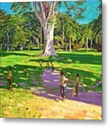 Cricket Match St George Granada Metal Print by Andrew Macara