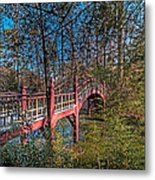Crim Dell Bridge Spring Metal Print