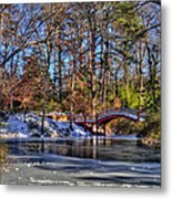 Crim Dell In Winter William And Mary Metal Print