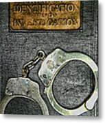 Crime Scene Investigation Metal Print by Paul Ward