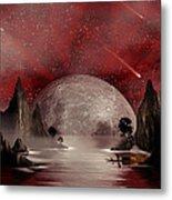 Crimson Night Metal Print by Anthony Citro