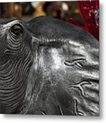 Crimson Tide For Christmas Metal Print by Kathy Clark