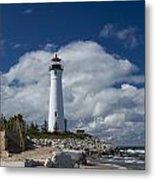 Crisp Point Lighthouse 15 Metal Print