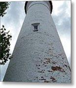 Crisp Point Lighthouse Metal Print