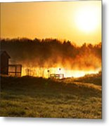Crisp Spring Morning Metal Print