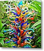 Cristal Garden Metal Print