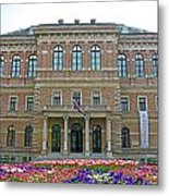 Croatian Academy Of Sciences And Arts  Metal Print by Borislav Marinic