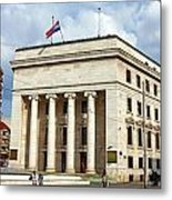 Croatian National Bank Zagreb Metal Print