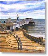 Cromer Pier Norfolk Metal Print