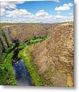 Crooked River Canyon Metal Print