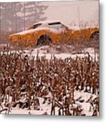 Crop Rotation--vets This Year Metal Print by David Bearden