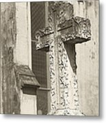 Cross Charleston Sc Metal Print