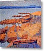 Cross' Coast Near Antibes Metal Print