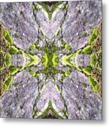 Cross In The Forest Metal Print