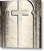 Cross Monument Metal Print