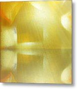 Cross Reflection Metal Print