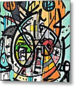 Cross Section Of Time Metal Print
