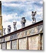 Crosses And Angels Metal Print