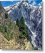 Crossing The Himalayas Metal Print