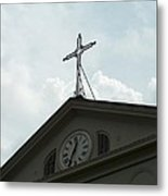 Crossing Time Metal Print