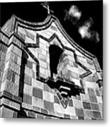 Crosstower Metal Print