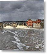 Croton Dam Flood Metal Print