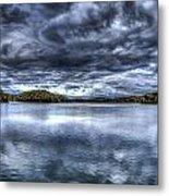Croton Reservoir Metal Print