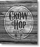 Crow Hop Brewing Metal Print