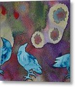 Crow Series 6 Metal Print