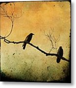 Crowded Branch Metal Print