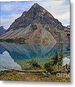 Crowfoot Mountain Banff Np Metal Print