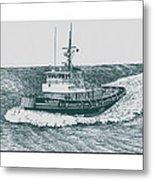 Crowley Tugboat Ocean Going Gladiator Metal Print